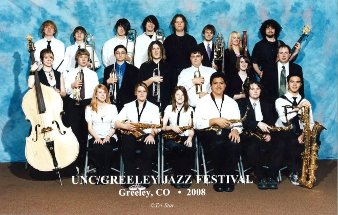 2008 Kelly Walsh High School Jazz Ensemble 1
