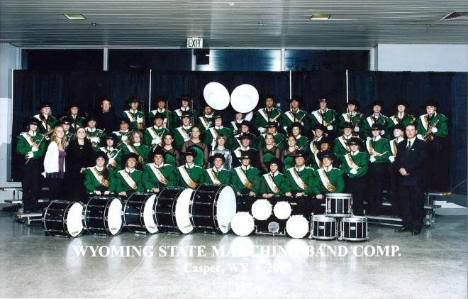 2007 Kelly Walsh High School Marching Band