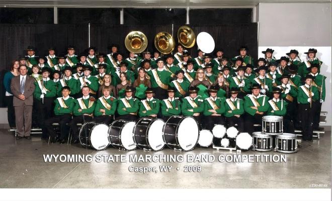 2009 Kelly Walsh High School Marching Band