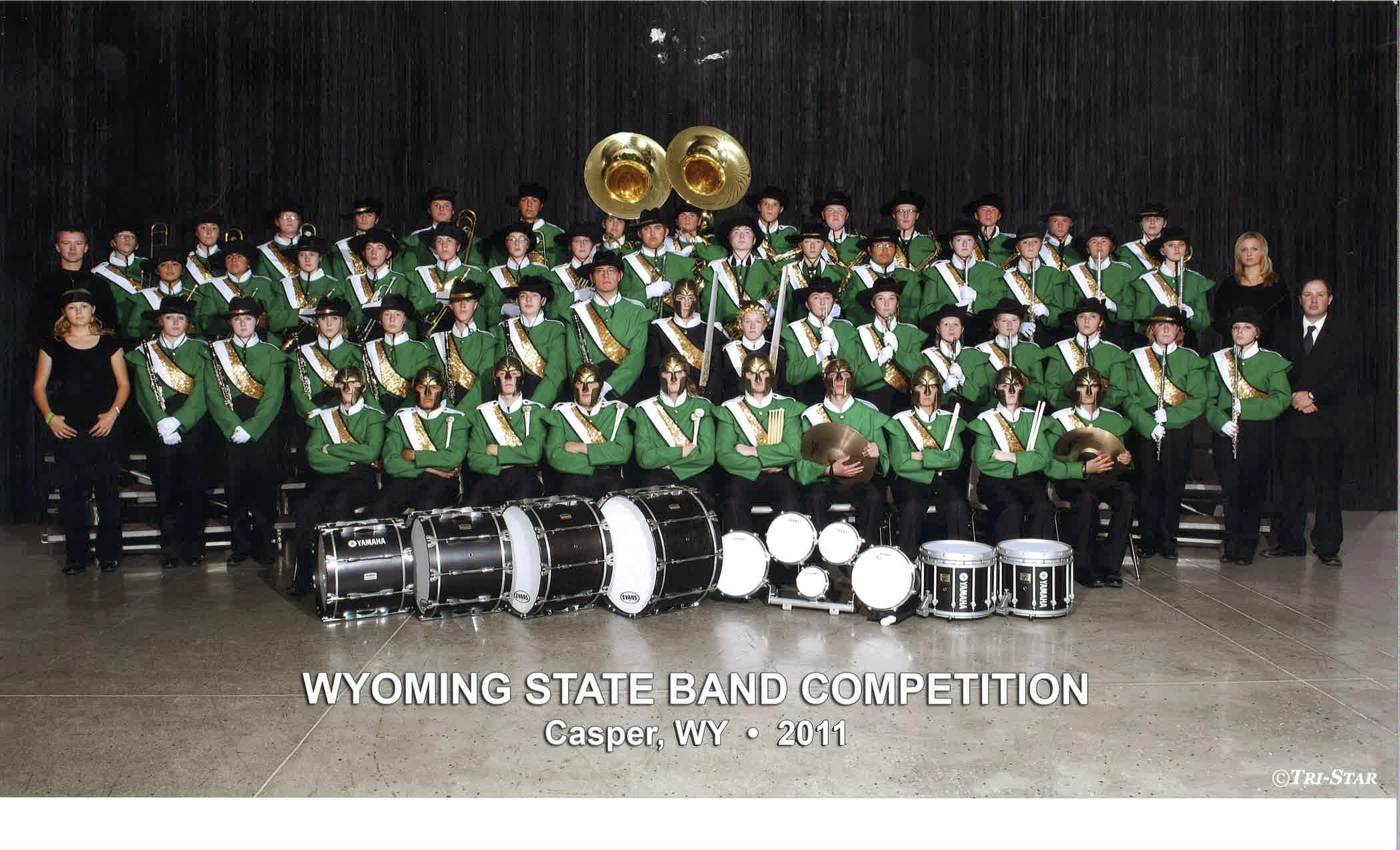 2011 Kelly Walsh High School Marching Band
