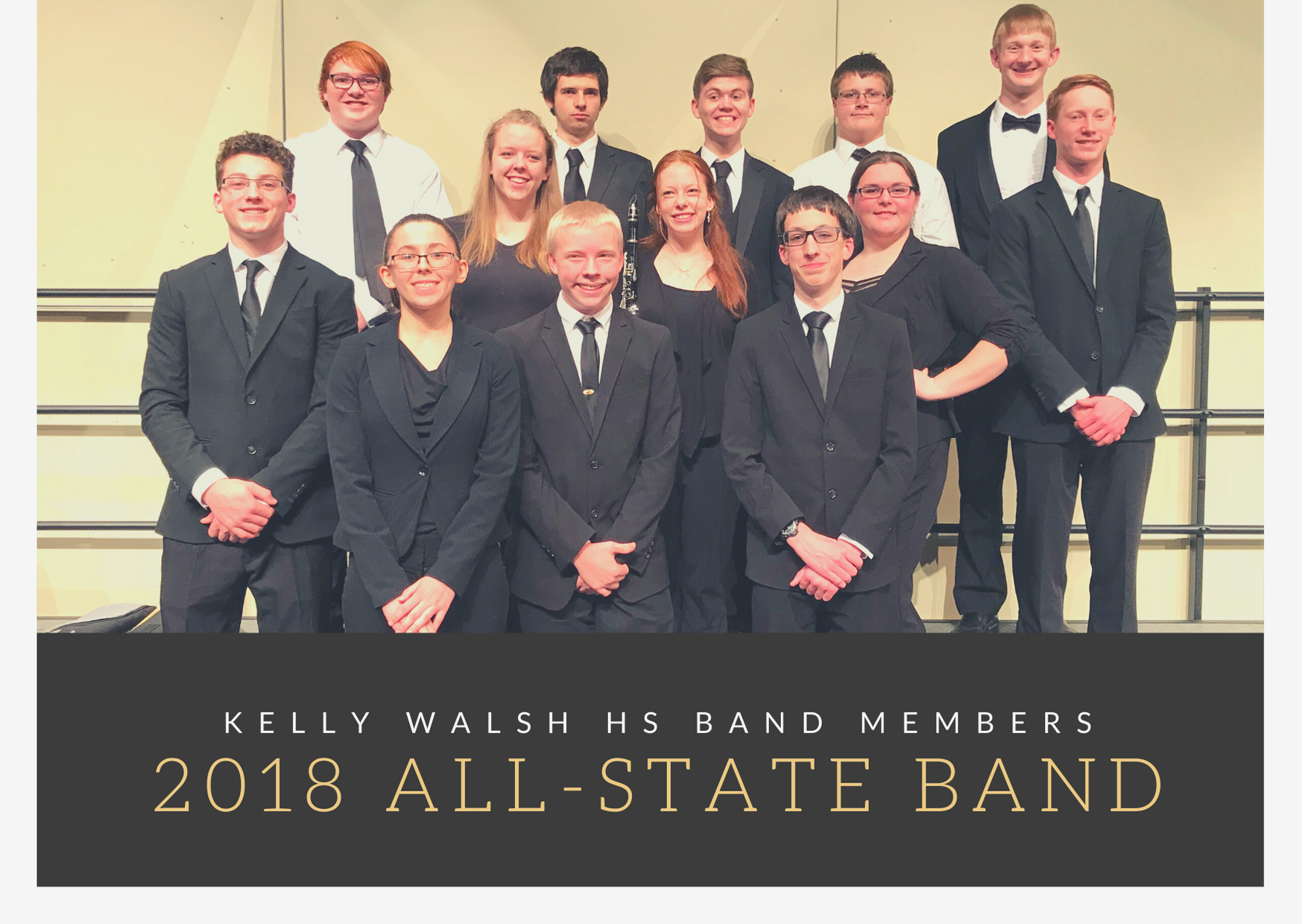 2018 All State Band