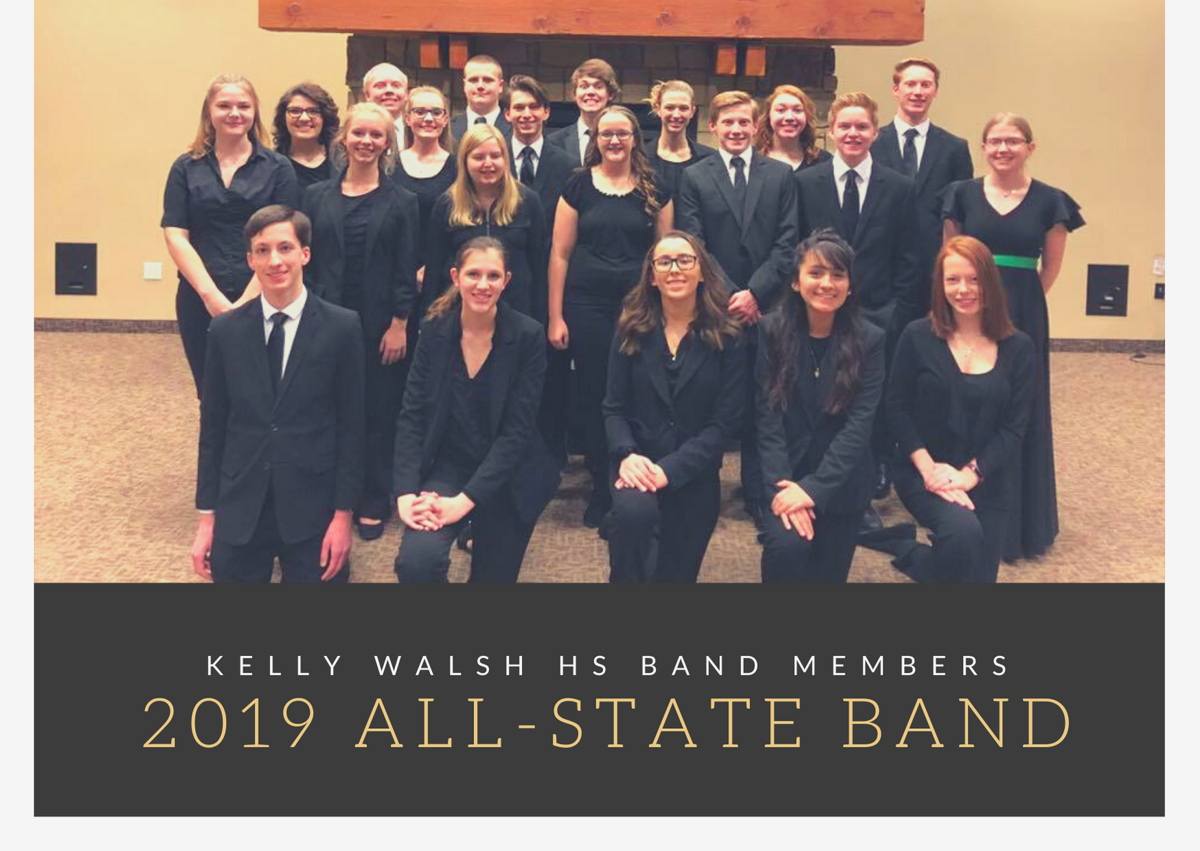 2019 All State band