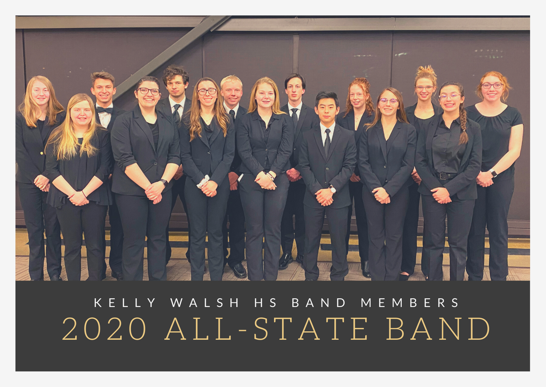 2020 All-state band